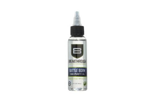 Breakthrough Battle Born High-Purity Oil (Lubricant & Protectant) - 2oz. Bottle