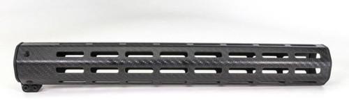 "Faxon Streamline Carbon 15"" M-Lok Handguard Anodized"