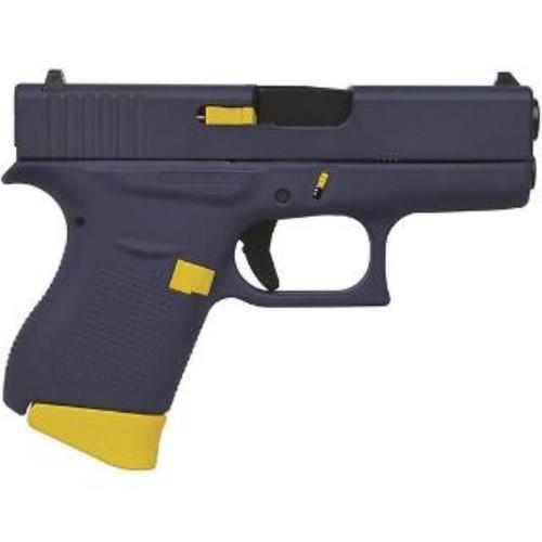 """Glock 43 9mm, 3.39"""", 6+1, FS, Navy Tribute Cerakote"""
