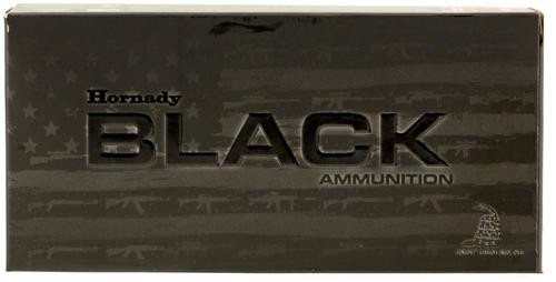Hornady Black InterLock HD SBR 223/5.56 75gr, InterLock HD 20rd Box