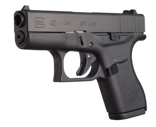 "Glock G42 .380 ACP, 3.25"" Barrel, Glock Night Sights 6 rd Mag"