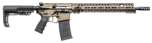"POF Renegade Plus, .223/5.56, 16.5"",, , MFT Stock, Burnt Bronze,  30 rd"