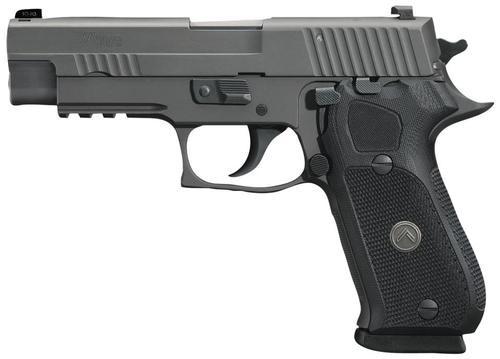 "Sig P220 Legion, 45 ACP, 4.4"", Legion Gray PVD Finish, NS, 8rd, P-SAIT Trigger"