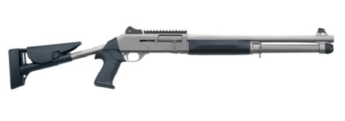 "Benelli M4 H20 LEO 12 Ga, 18.5"" Barrel Tele-Stock, Law Enfocement Only"