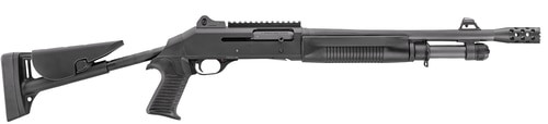 "Benelli M4 Entry/CQB 14"" Breaching Barrel 3 Position Stock, Ghost Ring Sight"