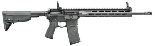 "Springfield Saint AR-15 5.56/223 16"" Barrel Flip Up Rear Sights M-Lok Free-Floating Handguard 30rd Mag"