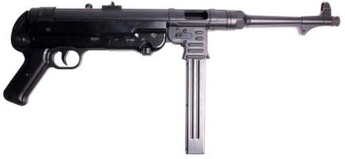 "American Tactical, MP40P 9mm, 10.8"" Barrel, Black, Polymer Grip, 30Rd"