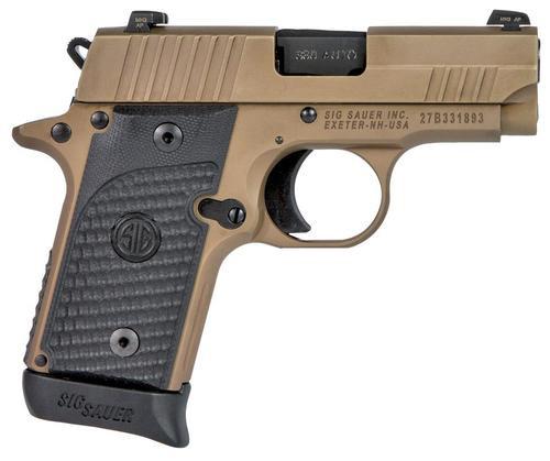 """Sig P238 Emperor Scorpion, .380 ACP, 2.7"""", G10 Grips, FDE, 6/7 rd"""