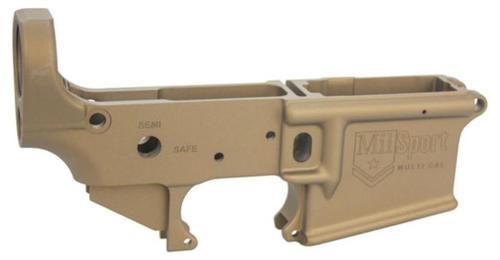 ATI Mil Sport AR-15 Stripped Lower Burnt Bronze Cerakote Multi-Cal