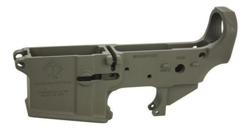 ATI Mil Sport AR-15 Stripped Lower OD Green Cerakote Multi-Cal