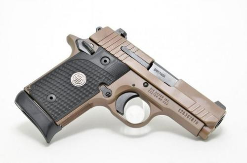 "Sig P938 Emperor Scorpion, 9mm, Flat Dark Earth, 3"", 6rd"