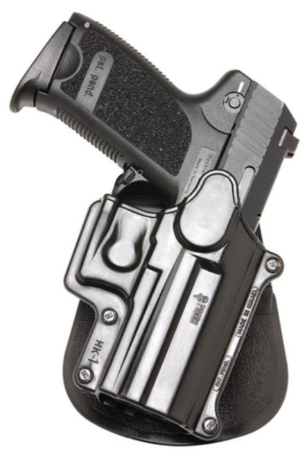 Fobus Paddle HK USP/Compact, Black, Right Hand