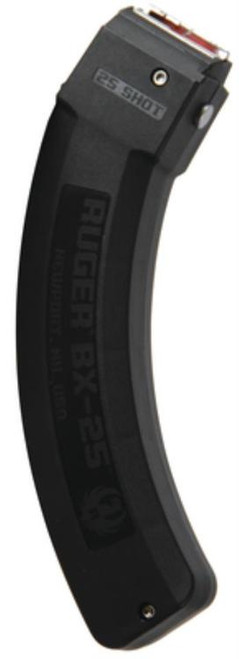 Ruger 10/22 Magazine BX-25 25rd, Black, Also 77/22, SR-22