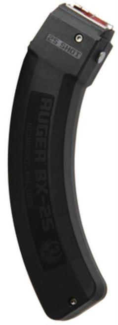 Ruger 10/22 Magazine BX-25 25rd, Black, Also 77/22, SR-22
