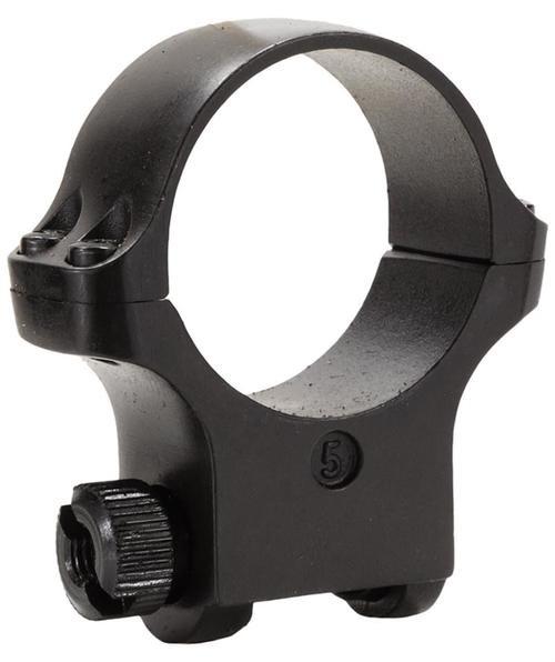 Ruger Clam Pack Single Ring High 30mm Diameter Hawkeye Matte Blued