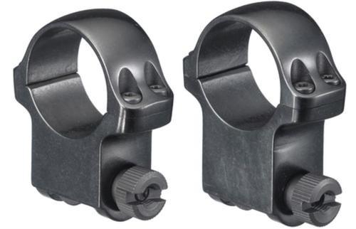 """Ruger M77 Scope Ring Set 1"""" High Blue"""