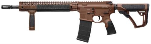 "Daniel Defense DDM4 v5 5.56mm,14.5"" Barrel With Extended DD Flash Suppressor (Total Barrel 16""), Mil Spec + Cerakote Finish, 32rd"