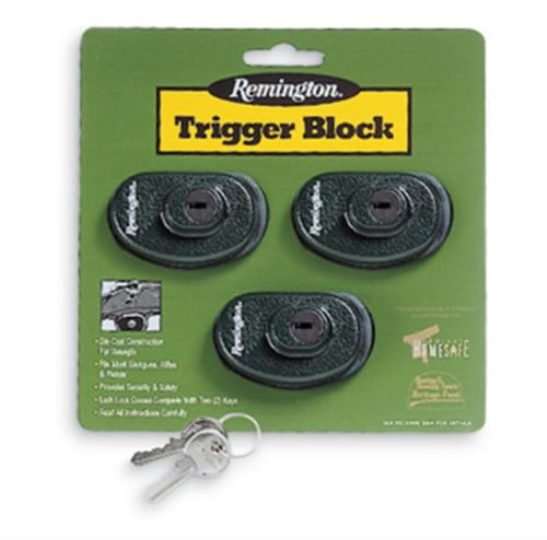 Remington Trigger Block Locks 3/Pack