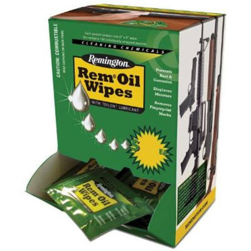 Remington Oil Wipes 6x8