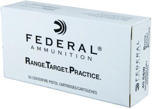Federal .40S&W 180Gr RTP Range Target Practice 50rd Box