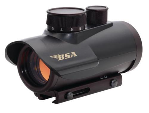 BSA Sporting Optics Red Dot Sight 1x30mm, Black