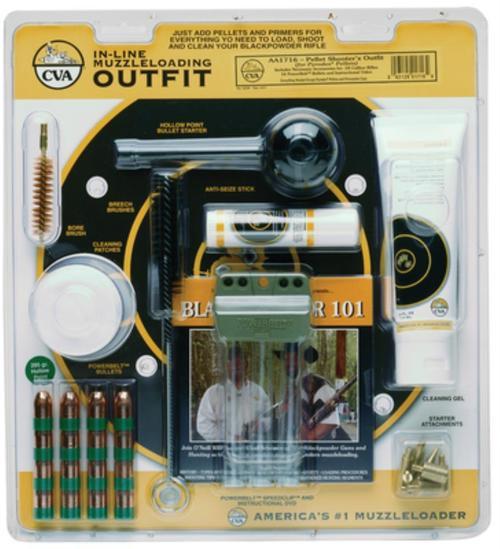 CVA Cva Pellet Shooters Accessory Outfit Plus Instructional Dvd .50 Caliber