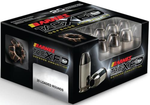 Barnes Ammunition Home Defense .40 S&W 140gr, TAC-XP 20rd Box