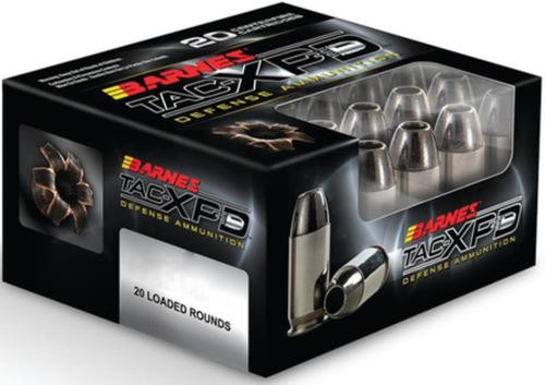 Barnes Ammunition Home Defense 45 ACP +P 185gr, TAC-XP, 20rd Box