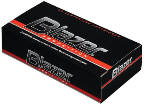 CCI Blazer 9mm 124 Gr, Total Metal Jacket, CF, 50rd Box