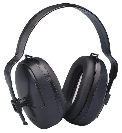 Elvex Corp ValueMuff Earmuff NRR 25dB Black
