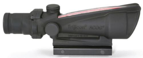 Trijicon ACOG 3.5x35 Scope Dual Illuminated Red Crosshair .308 Ballistic Reticle, TA51 Mount