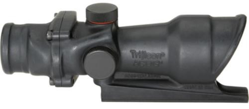 Trijicon ACOG 4x32mm AR-15 223Cal Red Crosshair 36.8ft @ 100yds FOV Matte