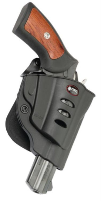 Fobus E2 Paddle Holster, Fits Ruger GP100, Right Hand, Kydex, Black
