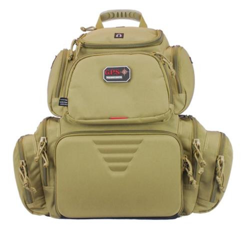 G*Outdoors Handgunner Tan Range Bag/Backpack