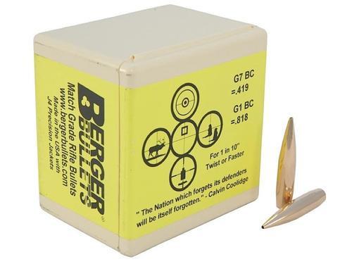 Berger Bullets Match Hybrid OTM Tactical 338 Caliber .338 300gr, 100 Box