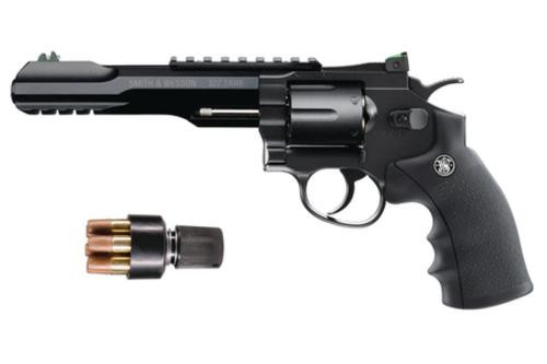 """Umarex Smith & Wesson 327 TRR8 BB Revolver .177 Caliber 5.5"""" Barrel With Sights And Rails 6 Shot"""