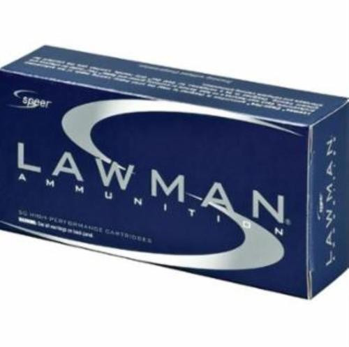 Speer Lawman 9mm 147gr, Total Metal Jacket, CleanFire, 50rd Box, 20 Box/Case