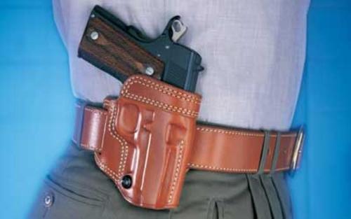 "Galco Avenger Belt Holster 3"" Barrel 1911 Saddle Leather Tan"