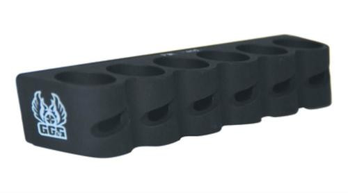 GG&G Remington 870/1100/11-87 Side Saddle Shell Holder Black