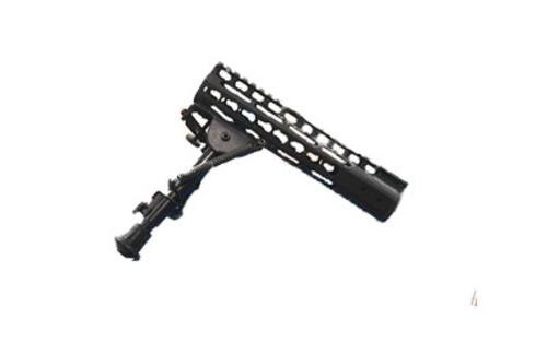 Impact Weapons Components KeyMod MOUNT-N-SLOT Bipod, Black Melonite Finish, Directly Attaches To KeyMod Forends