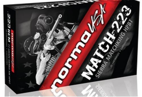 Norma Match-223 REM 77Gr, Sierra MK, 20Rd/Box