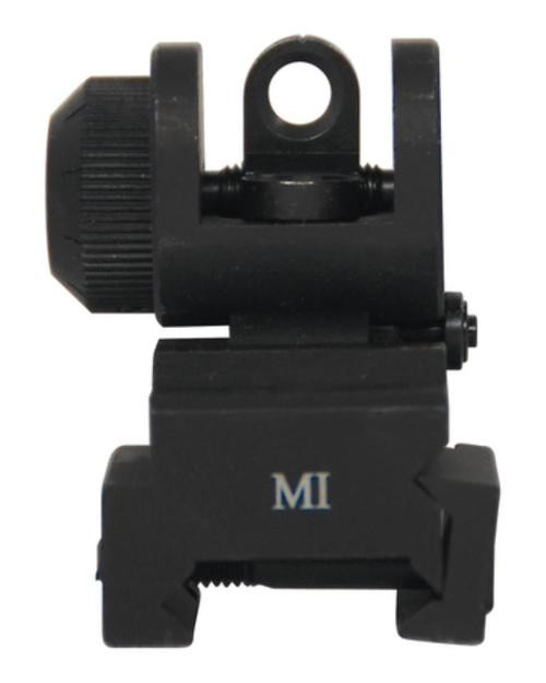 MIDWEST ERS Flip-up Rear Sight Black