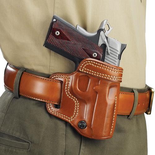 Galco Avenger Glock 19/23/32/36, CZ P10C, Tan, RH