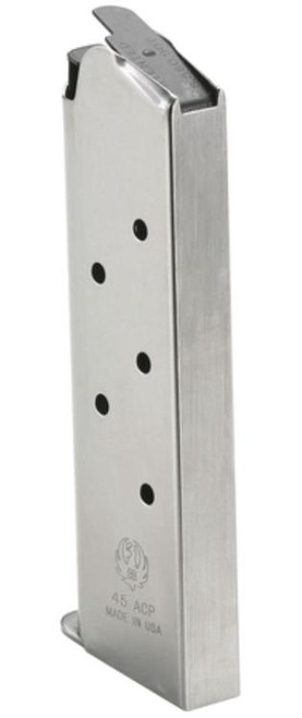 Ruger 1911 Magazine 45 ACP 7rd Stainless Finish