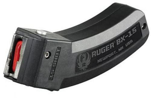 Ruger 10/22 Magazine BX-15 22LR 15rd Factory- Fits All 10/22 Models Including Ruger Charger