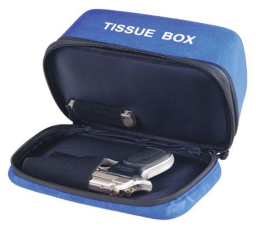 G. Outdoors Deceit & Discreet Handgun Case Tissue Box, Blue