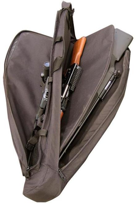 """Galati Gear Double 42"""" Rifle Case Cordura Black"""
