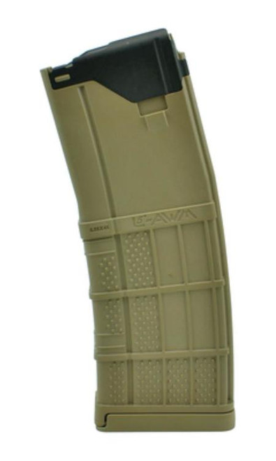Lancer L5 Advanced Warfighter Magazines - L5 AWM 5.56x45/.223, Opaque Flat Dark Earth, 30rd