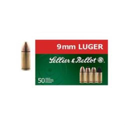 Sellier and Bellot 9mm/9mm Para Non Tox 115 Tfmj 50Rd/Box