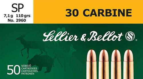Sellier and Bellot 30 Carbine 110 SP 50Rd/Box